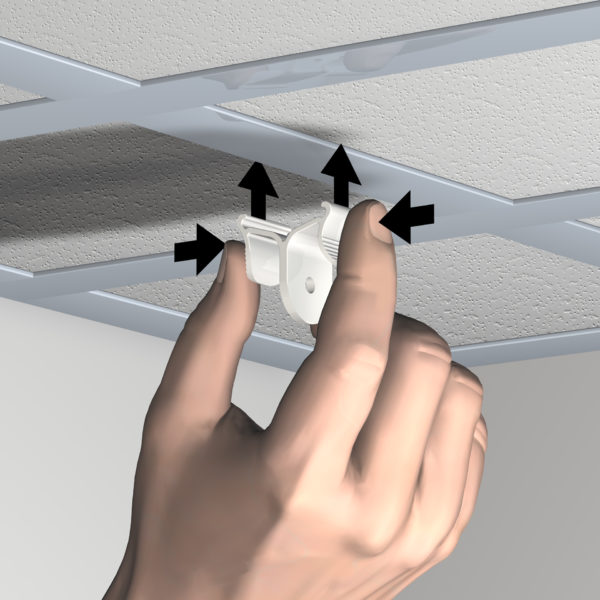 plafondmagneten en plafondklemmen